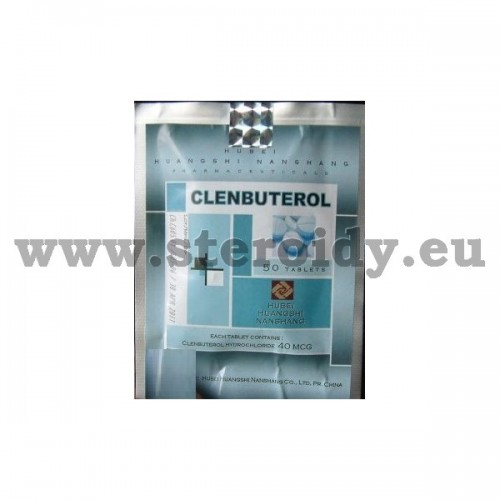 Clenbuterol Hubei 50 tabs