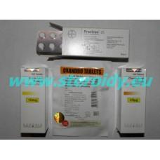 Pokročilý - MY EXTREME CUT PACK (Anavar + WInstrol + Proviron + Clenbuterol)