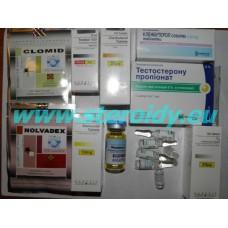 Expert - HIGH EFFECT CUTTING PACK (Trenbolona acetato + Winstrol + Testosteron propionate + Masteron + T3 + Clenbuterol)