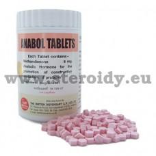 Anabol Tablets British Dispensary 1000 tabs